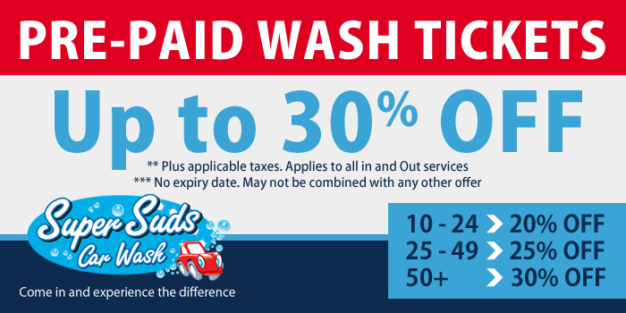 super suds car wash brampton discounts